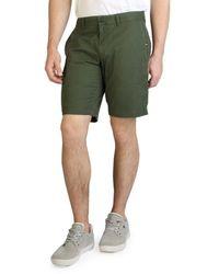 Tommy Hilfiger - Seaweed Green Shorts - Lyst