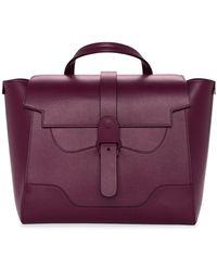 Senreve Handbag Revival: Perfectly Imperfect Maestra Bag - Purple