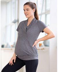 Seraphine Pregnancy Yoga Maternity & Nursing Top - Multicolor