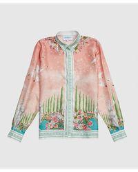 CASABLANCA Maison De Repos Shirt - Pink