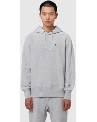 Champion Hooded Sweatshirt - Gray