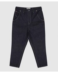 Junya Watanabe Carrot Fit Jeans - Blue