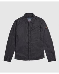 Paul & Shark Nylon Overshirt - Blue