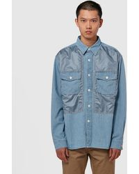 Nanamica Cpo Shirt - Blue