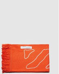 Off-White c/o Virgil Abloh Abstract Arrows Scarf - Orange