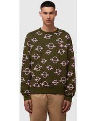 Acne Studios Faise Planet Sweatshirt - Green