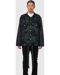 1017 ALYX 9SM Mackintosh Oversized Denim Jacket - Black