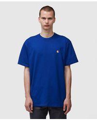 Carhartt WIP Chase T-shirt - Blue