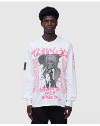 Flagstuff 1989 Long Sleeve T-shirt - Pink