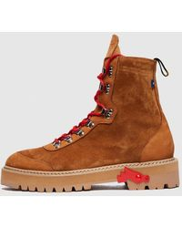 Off-White c/o Virgil Abloh Hiking Boot - Brown