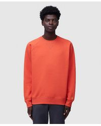 Carhartt WIP Chase Sweatshirt - Orange