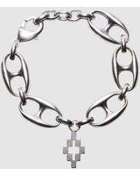Marcelo Burlon Cross Charm Bracelet - Metallic