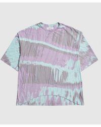 Sasquatchfabrix Tie Dye Pocket T-shirt - Gray