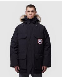 Canada Goose Expedition Parka Jacket - Black