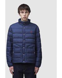 Polo Ralph Lauren Padded Newport Jacket - Blue
