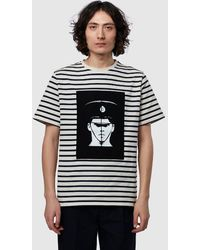 JW Anderson Gilbert And George Police T-shirt - White