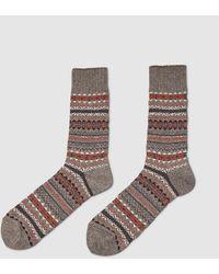 Junya Watanabe Knitted Socks - Grey