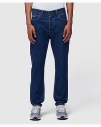 CALVIN KLEIN JEANS EST. 1978 Narrow Denim Trousers - Blue