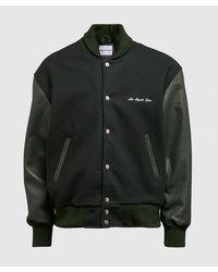 MKI Miyuki-Zoku University Varsity Jacket - Green