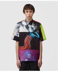 Dries Van Noten Mika Ningawa Bowler Shirt - Multicolor