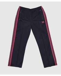 Needles Poly Track Pant - Blue
