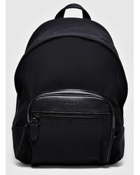 Neil Barrett Jacqard Thunderbolt Backpack - Black