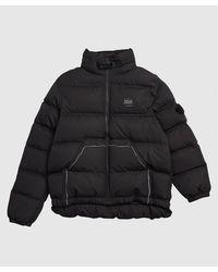 ADER error Graphic Down Jacket - Black
