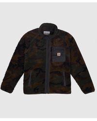 Carhartt WIP Prentis Liner Fleece Jacket - Black