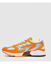 Nike Air Ghost Racer Panelled Trainers - Orange