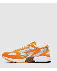 Nike Air Ghost Racer Panelled Sneakers - Orange