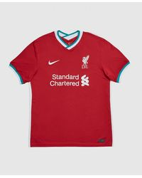 Nike Liverpool F.c. 2020/21 Home Shirt - Red