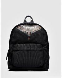 Marcelo Burlon Norwegian Wings Backpack - Black