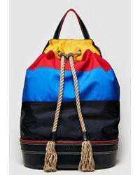 4ac5affebd0 Lyst - J.W. Anderson Pierce Leather Flap Backpack for Men
