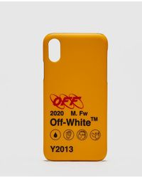 Off-White c/o Virgil Abloh Industrial Y013 Iphone X Cover - Yellow