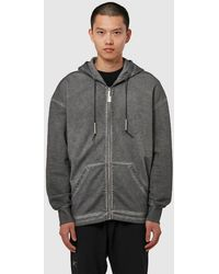 A_COLD_WALL* Basic Zip Hoodie - Grey