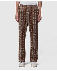 Needles Poly Jacquard Trackpant - Brown