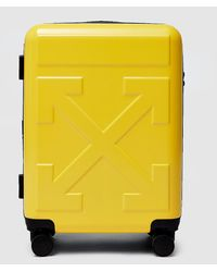 Off-White c/o Virgil Abloh Arrow Trolley LUGGAGE - Yellow