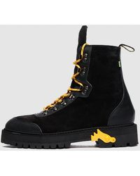 Off-White c/o Virgil Abloh Hiking Boot - Black
