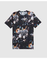 Comme des Garçons Futura All Over Print T-shirt - Black
