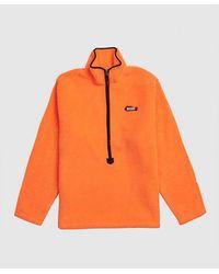 ADER error Shearling Pullover - Orange