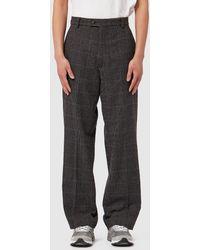 Aries Crepe Suit Trouser - Gray