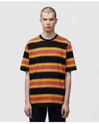 Stussy Multi Stripe T-shirt - Black
