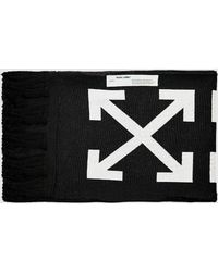 Off-White c/o Virgil Abloh Thermo Man Scarf - Black
