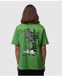 Stussy Don't Take The Bait T-shirt - Green