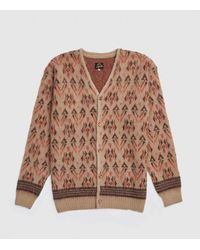 Needles Mohair Triangle Cardigan - Natural