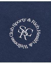Sporty & Rich Srhwc Sweatpant - Blue