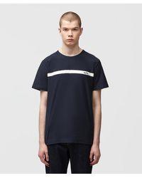 A.P.C. Yukata T-shirt - Blue