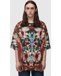 Dries Van Noten Harky Oversized Tye Dye T-shirt - Multicolour