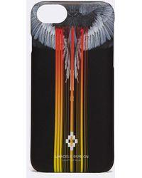 Marcelo Burlon - Wings Barcode Case 8 Black/multi - Lyst