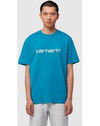 Carhartt WIP Script T-shirt - Blue